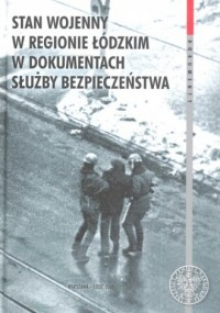 Stan wojenny w regionie Łódzkim - okładka książki