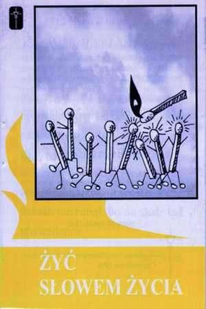 Żyć słowem życia - okładka książki