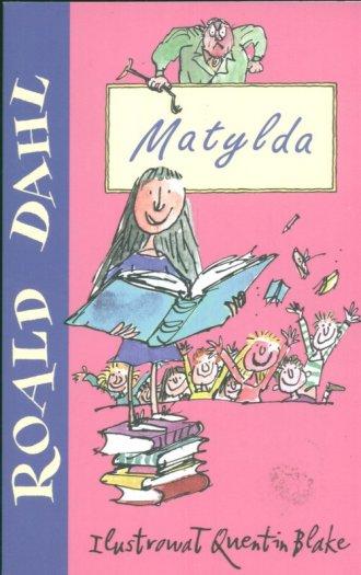 ksi��ka -  Matylda - Roald Dahl