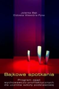 Bajkowe spotkania - okładka książki