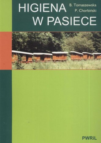 Higiena w pasiece - okładka książki