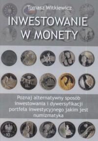 Inwestowanie w monety - okładka książki
