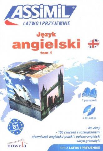 Język angielski Łatwo i przyjemnie. - okładka podręcznika