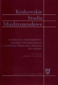 Krakowskie Studia Międzynarodowe - okładka książki