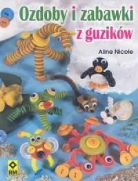 Ozdoby i zabawki z guzików - okładka książki