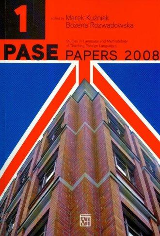 Pase Papers 2008. Vol 1 - okładka książki