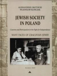 Społeczność żydowska w Polsce / Jewish society in Poland (wersja ang.) - okładka książki