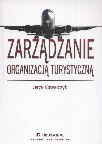 Zarządzanie organizacją turystyczną - okładka książki
