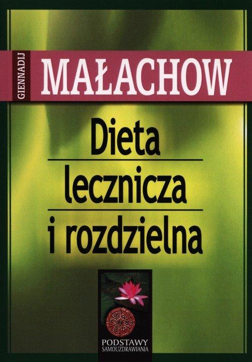 Dieta lecznicza i rozdzielna - okładka książki