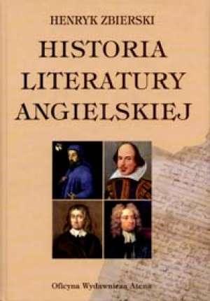 Historia literatury angielskiej - okładka podręcznika