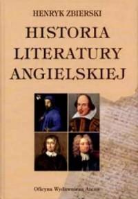 Historia literatury angielskiej - okładka książki