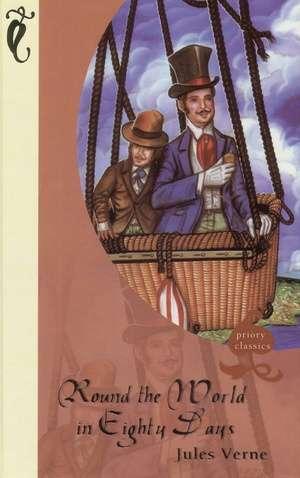 Round the World in eighty days - okładka książki