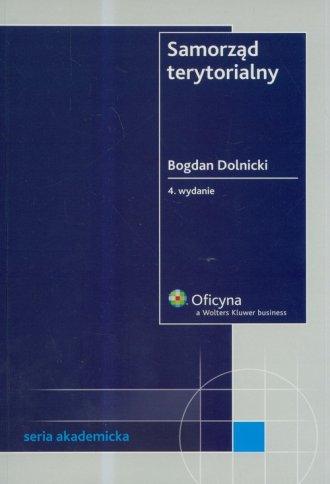 Samorząd terytorialny - okładka książki