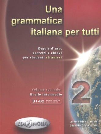 Una grammatica italiana per tutti - okładka książki