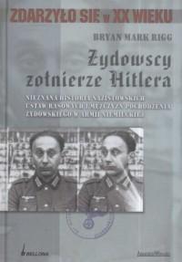 Żydowscy żołnierze Hitlera - okładka książki