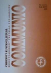 Communio nr 1(151)/2006. Chrzest - okładka książki