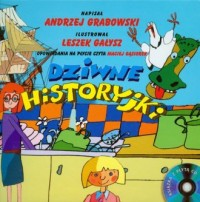 Dziwne historyjki (+ CD) - okładka książki