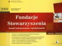 Fundacje. Stowarzyszenia 2009 - okładka książki