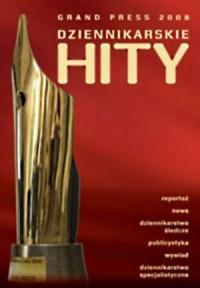 Grand Press. Dziennikarskie hity 2008 (+ CD) - okładka książki