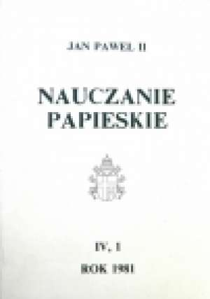 Nauczanie papieskie 1985. Tom VIII/2 - okładka książki