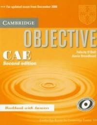 Objective CAE Workbook with answers - okładka podręcznika