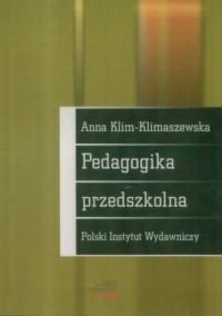 Pedagogika przedszkolna - okładka książki