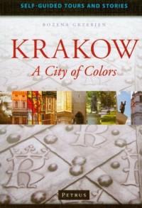 Przewodnik po Krakowie w języku angielskim - okładka książki