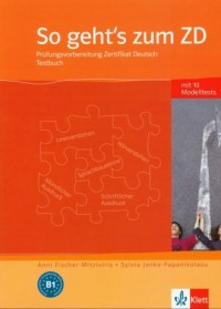 So gehts zum ZD Testbuch - okładka podręcznika