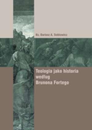 Teologia jako historia według Brunona - okładka książki