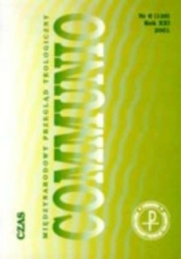 Communio nr 6(126)/2001. Czas - okładka książki