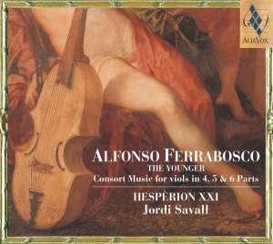 Consort Music to the viols in 4, - okładka płyty