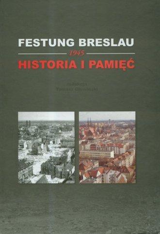 Festung Breslau - 1945. Historia - okładka książki