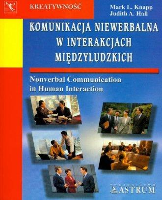 Komunikacja niewerbalna w interakcjach - okładka książki