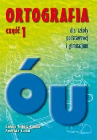 Ortografia dla szkoły podstawowej - okładka podręcznika