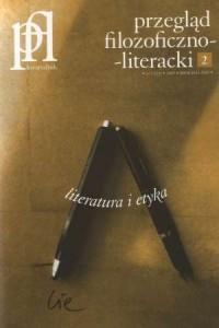 Przegląd filozoficzno-literacki. Literatura i etyka 2 (23) / 2009 - okładka książki