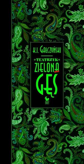 Teatrzyk Zielona Gęś - okładka książki