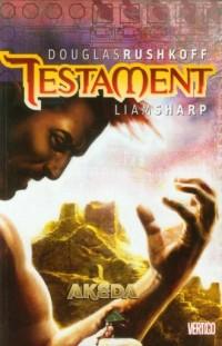 Testament Akeda. Tom 1 - okładka książki