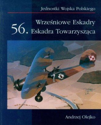 Wrześniowe Eskadry 56. Eskadra - okładka książki
