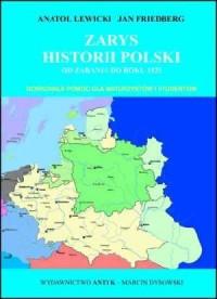 Zarys historii Polski od zarania do 1925 roku - okładka książki