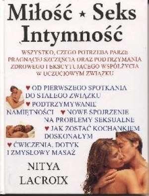 Miłość, seks, intymność - okładka książki