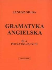 Gramatyka angielska dla początkujących - okładka podręcznika