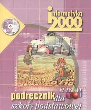 Informatyka 2000. Klasa 4-6. Szkoła - okładka podręcznika