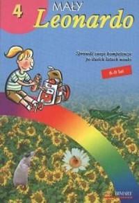 Mały Leonardo 4. Wakacje Tomka 8-9 lat - okładka podręcznika