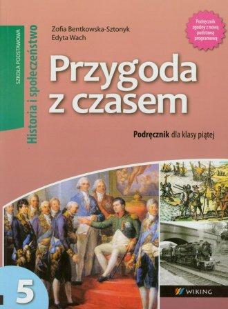 Przygoda z czasem. Historia i społeczeństwo. - okładka podręcznika