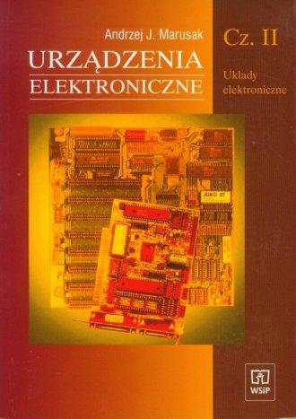 Urządzenia elektroniczne cz. 2. - okładka podręcznika