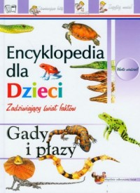 Encyklopedia. Gady i płazy - okładka książki