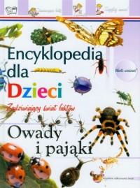 Encyklopedia. Owady i pająki - okładka książki