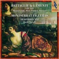 Battaglie & Lamenti (CD) - okładka płyty