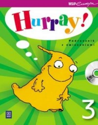 Hurray! 3. Podręcznik z ćwiczeniami (+ CD) - okładka podręcznika