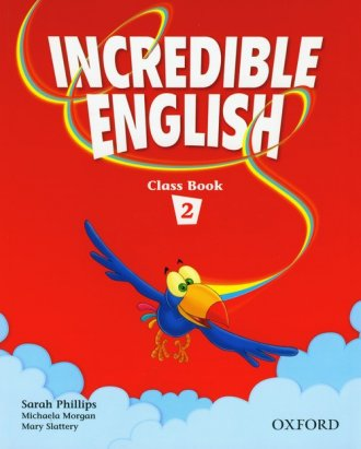 Incredible English. Class Book - okładka podręcznika